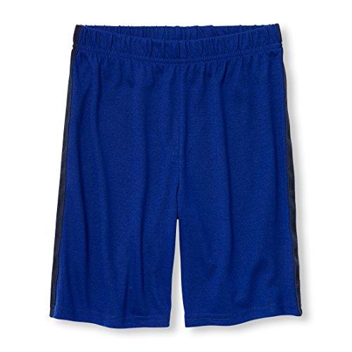 The Children's Place Big Boys' Lounge Shorts, Edge Blue, L (10/12) - Edge Lounge