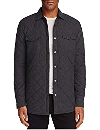 Redding Quilted Regular Fit Shirt Jacket Charcoal Medium