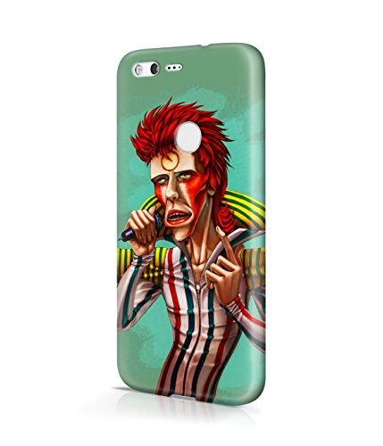 [Ziggy Stardust Costume David Bowie Plastic Snap-On Case Cover Shell For Google Pixel XL] (Kevin Mccallister Costume)
