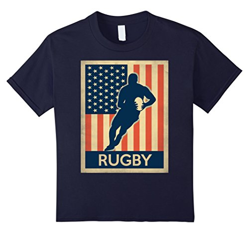 Kids rugby shirt US Flag 12 - Shirts Us Flag