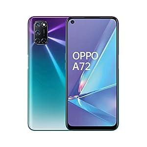 OPPO A72 Smartphone , Display 6.5'' LCD, 4, Fotocamere,128GB Espandibili, RAM 4GB, Batteria 5000mAh, Dual Sim, 2020… 5 spesavip