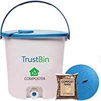 Trust Basket Trustbin - Indoor Compost bin for Converting All Kinds of Kitchen Food Waste into Fertilizer