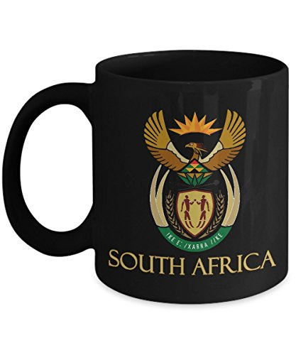 (South Africa - South African Coat of Arms: Ceramic Coffee)