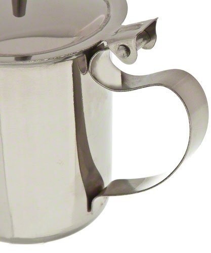 Stainless Steel Sugar-Creamer Table Top Server - 10 Ounce Capacity by Pride Of India by Pride Of India (Image #3)