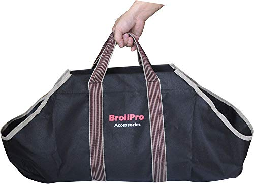 BroilPro Accessories BPA11 Log Carrier, Black