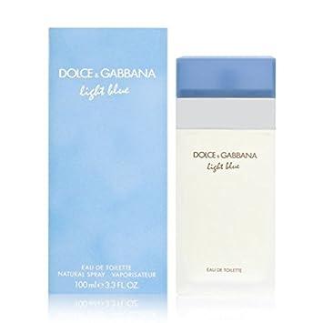 Dolce Gabbana Light Blue for Women Eau De Toilette, 3.3 Fl Oz