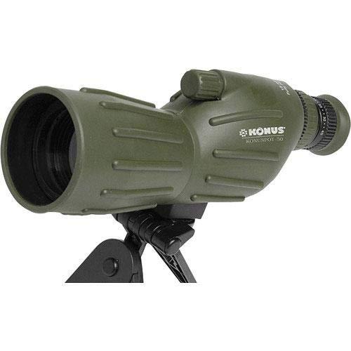 KONUS Konuspot 15X-45X50 Zoom Spotting Scope with Mini Tripod-Clam Package