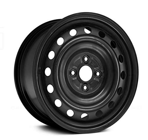 PartSynergy Replacemenet For New 15 Inch Steel Wheel Rim Fits 2012-2019 Toyota Yaris Prius 4-101.6mm 18 Holes ()