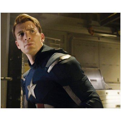 Chris Evans 8 x 10 Photo - Steve Rogers Captain America ()