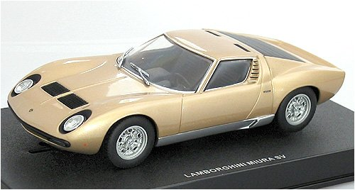 AUTOart 1:32 Slot Car Lamborghini Miura SV Gold 13112