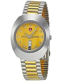 Rado Men's R12408633 Original Diastar Champagne Dial Watch