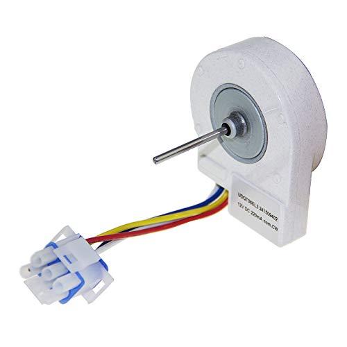 Refrigerator Evaporator Fan Motor 241509402 Compatible with Frigi daire AP3958808 PS1526073 241509401 (Kenmore Elite Side By Side Refrigerator Not Cooling)