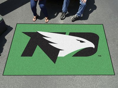- Fanmats Ncaa College Sports Team Athletic Outdoor Tailgating Party Nylon Area Rug Rug North Dakota Floor Ulti-Mat 60