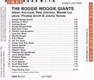 Boogie Woogie Giants