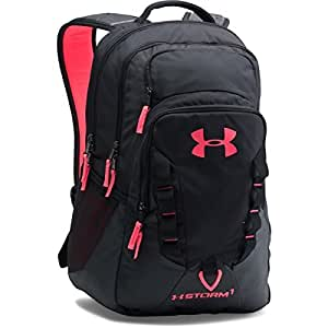 Under Armour Storm Recruit Backpack, Black/Black, One Size