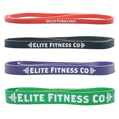 Elite Fitness 160 Co。Pull - Up Assistance Bands – 41 ストレッチ抵抗バンド – パワーリフティングBands – Extra Thick 6 mm – 耐久性 – Functionalフィットネス抵抗バンド – 41