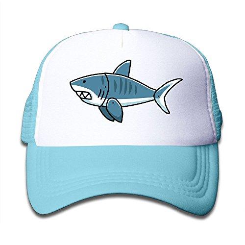 DIY Your Children Style Mesh Hat Tiger Shark Unisex Kids Baseball Mesh Cap