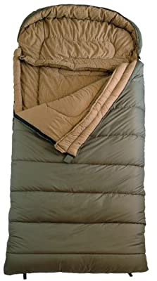 "TETON Sports Celsius XL -18 Degree C / 0 Degree F Flannel Lined Sleeping Bag (90""x 36"")"