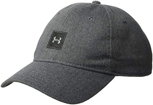 (Under Armour Men's Melton Wool Train Cap, Black (001)/Black, One Size)