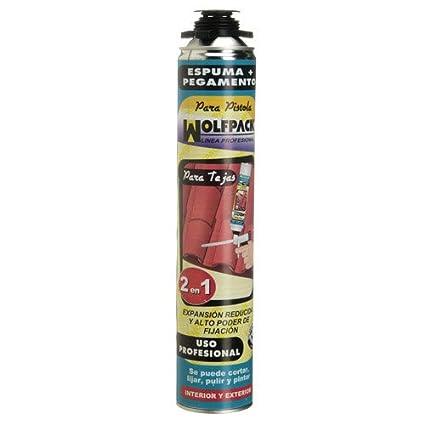 Wolfpack 14010158 Espuma Poliuretano 750 ml. Tejas Para Pistola