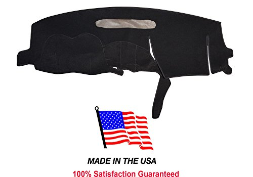 1999-2005 Pontiac Grand AM Dash Cover Carpet PO16 (Black)