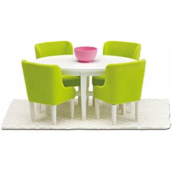 Amazon.Com: Lundby Smaland Dollhouse Dining Room Set: Toys & Games