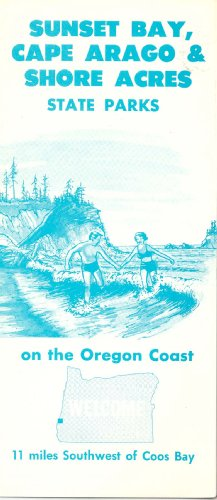 (Sunset Bay, Cape Arago and Shore Acres State Parks on the Oregon Coast South of Coos Bay)