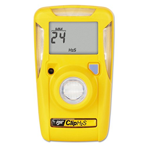 BW Technologies/Honeywell Analytics BWC2-H BW Clip Single-Gas Detector, Hydrogen Sulfide (H2S)