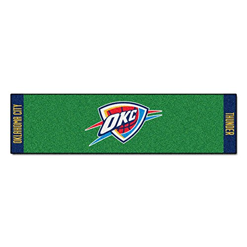 Fanmats NBA Oklahoma City Thunder Nylon Face Putting Green Mat by Fanmats