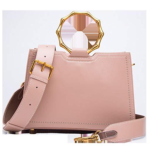 Borsa color Rose Tracolla Per Pink A Pink Donna Baachang Moda Da dwOqd0