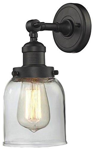 Innovations Lighting 203-OB-G52 1 Light Sconce, Oil Rubbed Bronze from Innovations Lighting