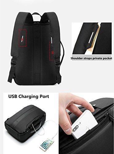e80f857efcda Zrui Slim Business Laptop Backpack for Men, Anti Theft Backpack ...