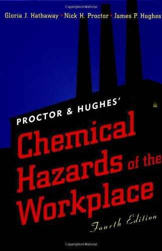 Proctor and Hughes' Chemical Hazards of the Workplace, 4th Edition (Industrial Health & Safety)