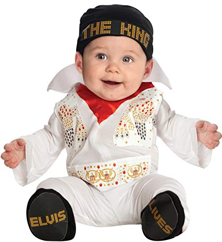 Halloween Costumes For Infants 3 6 Months (Rubie's Costume Co. Baby Boys' Elvis Costume, Multicolor, 0-6)