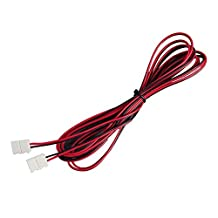 3M Extension Cable Wire Connectors, For 3528 Single Color Led Strip Light