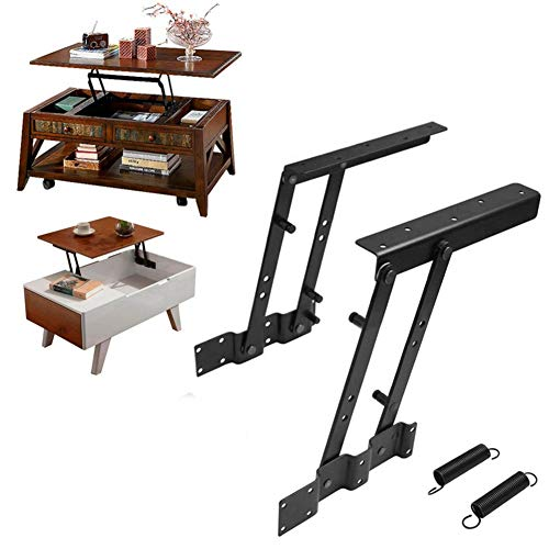 Ants-Store - 1Pair Multi-functional Lift Up Top Coffee Table Lifting Frame Mechanism Spring Hinge Hardware from Ants-Store