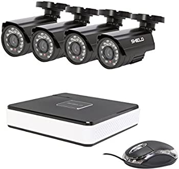 Shield Series 4-Ch. DVR Surveillance Kit