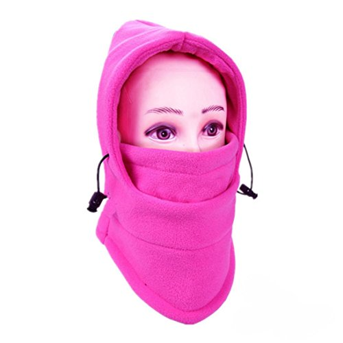 Balaclava Ski Face Mask Windproof Men Women Warm Hood Winter Masks Thermal Fleece Fabric with Breathable Vents for Cold Cycling Skiing Motorcycle Face Hats (J) (Best Way To Pleasure Yourself Men)