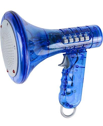 Blue Megaphone Voice Changer Speech Effect Modifier Toy