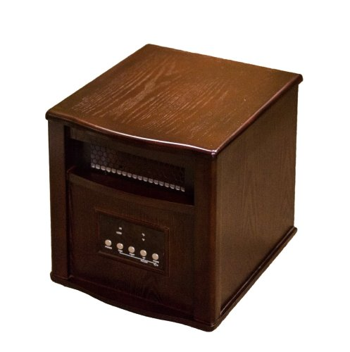AZ Patio Heaters HLI-WI-0035WAL Indoor Space Heater with Remote, Walnut (Az Patio Heaters Infrared compare prices)