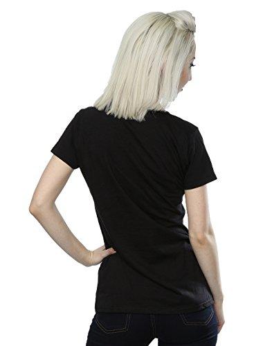 Distressed T Winehouse Circle shirt Amy Femme Noir gPZ1vv7W