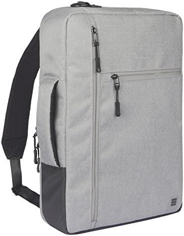 Finocam Urban Mochila Profesional Convertible a maletín para portátil de hasta 15.6'', Color Gris