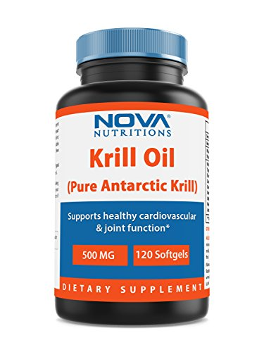 Nova Nutritions Krill Oil 500 mg 120 Softgels by Nova Nutritions (Image #3)