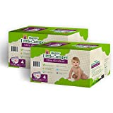 Happy Little Camper Ultra Absorbent Premium Natural Diapers, Size 4, 160 Count