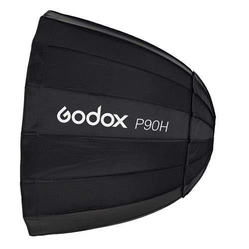 Godox P90H ソフトボックス パラボリックソフトボックス ポータブル式 軽量 直径90cm スタジオ撮影用 P90H  B07NZBB1YM