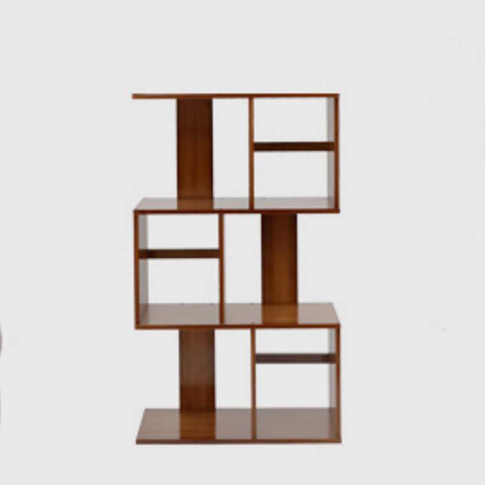 ( Third floor)6024.5102cm DYR Bamboo Shelf S Shape Storage Unit Chest Bookshelf Cabinet Cabinet Cabinet Home Office Furniture (Dimensions  (Second Floor) 60  24.5  68.5 cm)