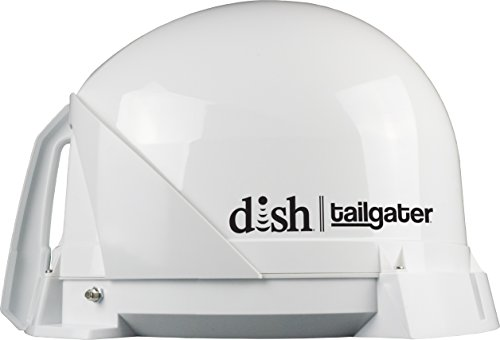 KING DISH VQ4400 Tailgater Portable/Roof Mountable Satellite TV Antenna (for use with DISH)