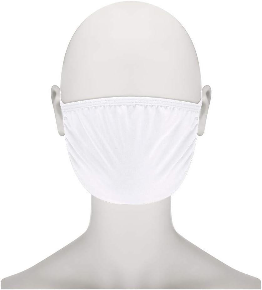 LONGROA 10 St/ück Mund und Nasenschutz Einfarbig Mundschutz with 20PC Filters Unisex waschbare und Wiederverwendbare Mundschutzh/ülle Mundbedeckung Gesichtsmundabdeckung