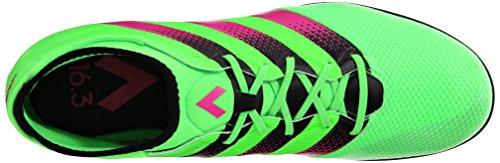 adidas Performance Herren Ace 16.3 Primemesh TF Fußballschuh Shock Green / Shock Pink / Schwarz