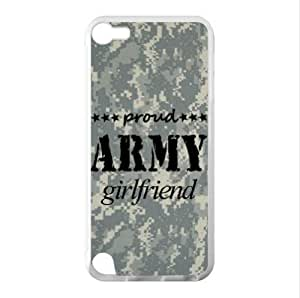 Best Custom Case ,Proud Army Girlfriend For Ipod Touch 5 Case Cover Hard shell Case, Cell Phone Cover